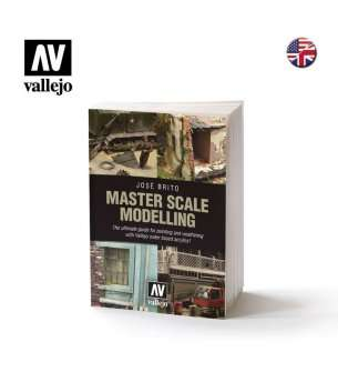 Vallejo 75020 Master Scale Modelling Book - English