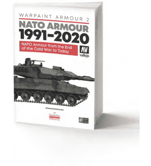 Vallejo 75022 Warpaint Armour 2 - NATO Armour 1991-2020 Book - English