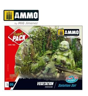 AMMO MIG 7806 Super Pack Vegetation - Solution Set