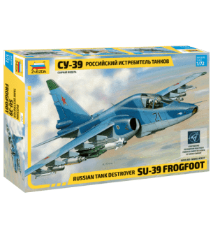 1:72 Zvezda 7217 Russian tank destroyer Su-39 Frogfoot